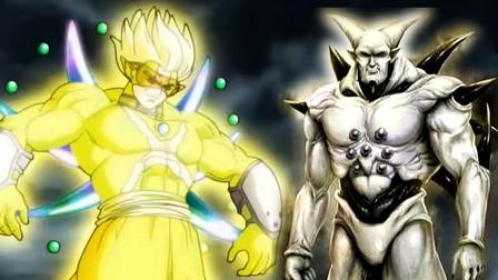 """龙珠:赫兹模仿超级一星龙,坦言要杀死全王,却被""""悟吉塔""""打败"""