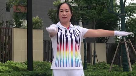 我为中国佳操代言推荐 西安李朝香展示上肢运动《活力中国》