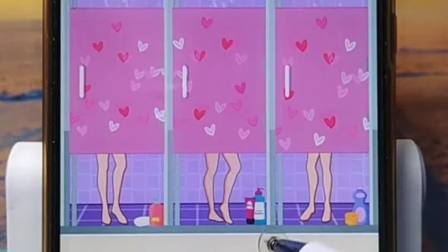 趣味小游戏:男人竟然跑到女浴室洗澡了