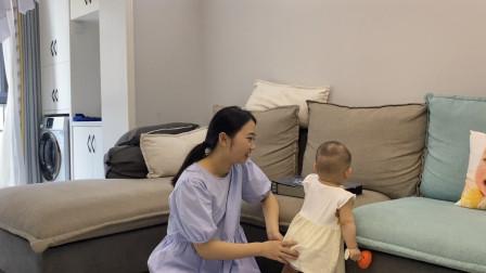 全职妈妈带娃vlog,我家宝宝从小就养得好,每次出门都被人夸