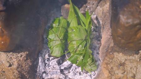 简简单单吃个竹叶蟹!