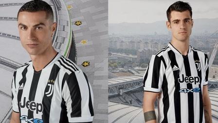 纪念搬入新球场10周年,尤文全新主场球衣发布