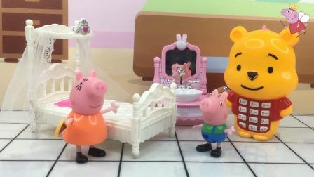 少儿玩具:猪妈妈做美梦被叫醒了