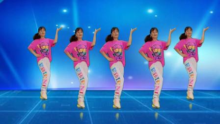 广场舞《谁家的姑娘这么美》歌美舞更美32步,附教学一看就会跳