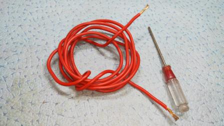 电工知识:才发现,电笔也能查断线,真是大开眼界,不愧是老电工,经验真多