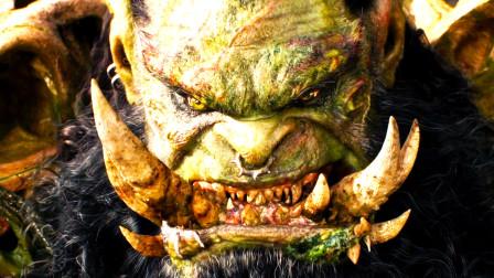 他就是魔兽,一身肌肉,满嘴大獠牙,力大无穷,爱好就是打架!