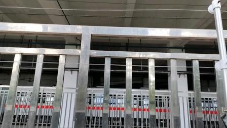 深圳地铁1号线大修后的127停在竹子林车辆段