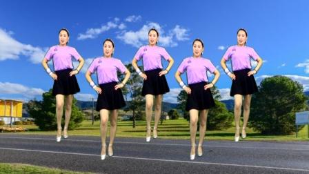 精品广场舞《爱的路上千万里》动感32步 附教学