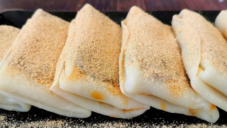 糯米粉最简单的做法,不揉不擀,筋道Q弹吃不腻,冷热都好吃