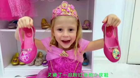 小萝莉和爸爸去参加粉红色舞会,好开心