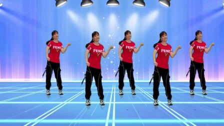 广场舞《人生如歌》独特好听醉了,舞步简单好看好学,附教学