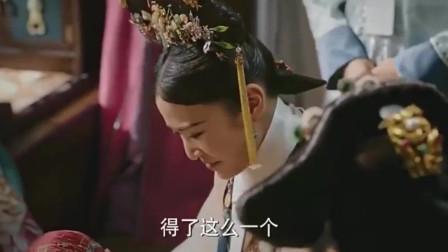 如懿传:颖妃替炩妃抚养七公主,小家伙胖嘟嘟好可爱!