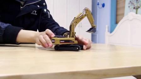 工程车模型挖掘机!推土机!