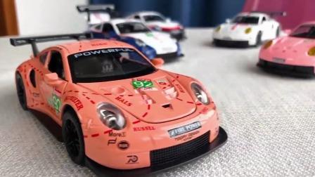 保时捷911RSR大名鼎鼎的粉猪来袭。