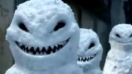 男孩堆雪人,没想到复活了雪人,把雪人变成了杀人武器