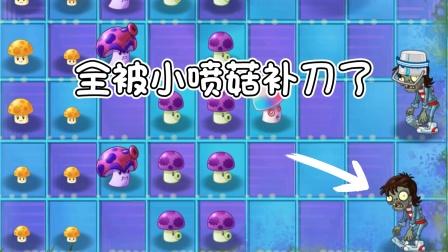 梦幻PVZ2-24:全被小喷菇补刀了