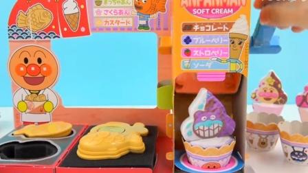 面包超人DIY食玩冰淇淋小店