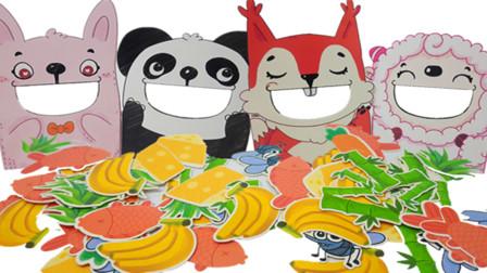 小羊吃青草,松鼠吃松子,哪个吃香蕉
