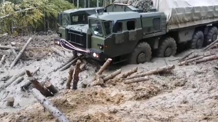 为什么俄罗斯重卡能在淤泥的西伯利亚地区行驶?