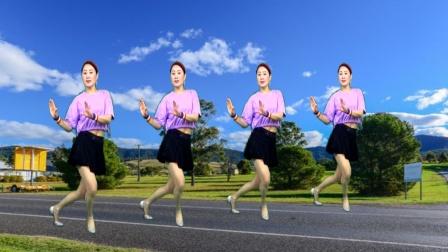广场舞教学《爱情41度9》网红舞曲 时尚32步