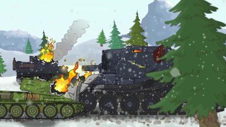 坦克世界动画:钢铁巨兽,最后的较量