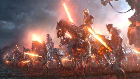 亡灵大军从地底钻出,手持烈焰长剑,杀入了人类世界!