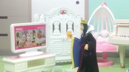 贝尔想吃零食,王后不给她吃