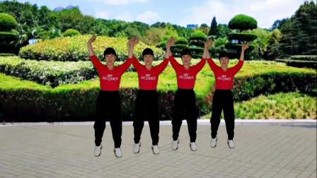 郴州冬菊广场舞【雾里天涯】好看的古风流行舞简单时尚
