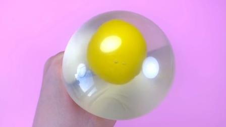 DIY手工:制作减压球和七彩史莱姆