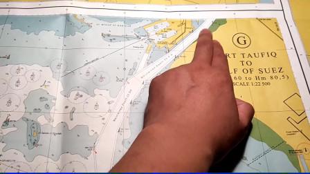 堵塞苏伊士运河的长赐号赔偿后起航,带你去看看巨轮过河的现场