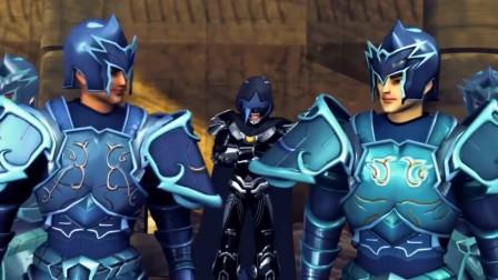 超兽武装:龙戬回老家遭遇冷眼对待!族人咄咄相逼上演回家的诱惑