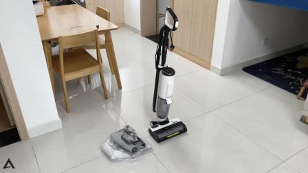 添可智能蒸汽洗地机体验:第一次使用洗地机!
