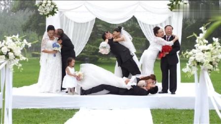 我的宝贝:一场盛大的婚礼婆婆和儿媳同台穿婚纱太有意义了!