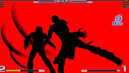 拳皇14:八神庵的隐藏顶点超杀大爪子互相送礼,帅就行了