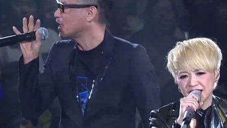 陈慧娴张学友演唱会合唱 《轻抚你的脸》