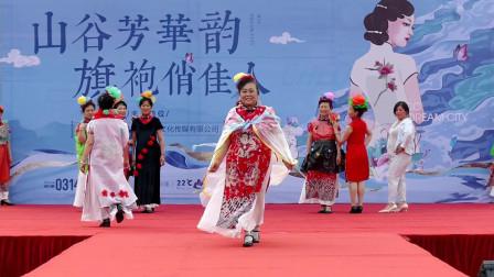 天坛周末16828 模特《变废为衣》北京泓鑫家园韵之声模特队