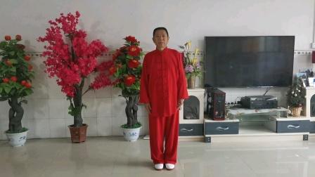 23式观音拳(通城l北港李恩龙2021.7.18初学时留影)