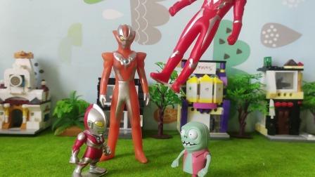 玩具故事:小鬼竟然把小奥特曼认成了自己的同类