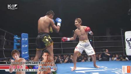 日本冠军挑衅泰拳王,被对手一拳KO,倒地的样子太狼狈
