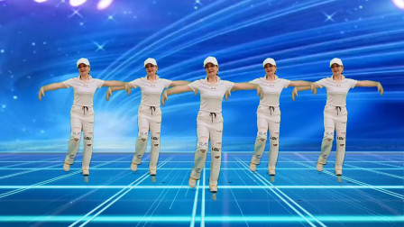 弹跳舞32步《歌名歌》一夜爆火网络,动感欢快好看又好学,附教学