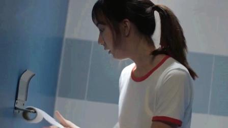 女孩被人陷害,用了带虱子的卫生纸!