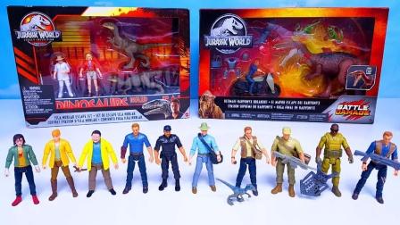 侏罗纪公园玩偶手办和恐龙玩具
