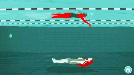 女孩每次游泳时,都能在水底看见去世已久的队友【热剧快看】