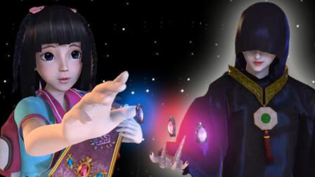 叶罗丽第一季:王默遇到神秘黑衣人,要用三个愿望换罗丽!