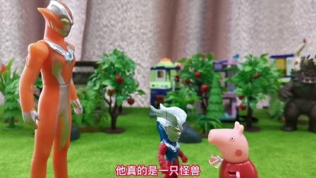 玩具故事:小奥特曼居然跟着怪兽回家,怎么回事呢