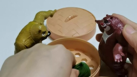 益智早教:熊大喜欢吃粽子
