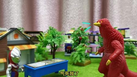 玩具故事:怪兽真不讲义气,居然扔下自己的同伴跑了
