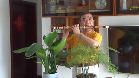 《左手指着月》张永纯笛子独奏 D2演奏,袁再彪先生制笛。