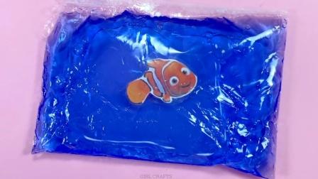 DIY手工:制作在塑料袋里游泳的小鱼