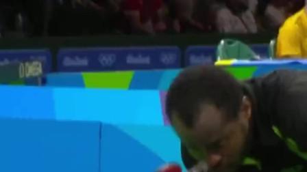 非洲乒乓球选手想打破中国选手在奥运赛场上的统治,来看看他的球技如何?